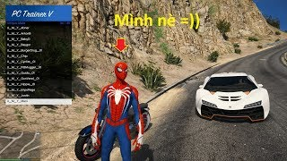 GTA 5 Mod - Người Nhện Nổi Loạn (Spider-man is crazy)