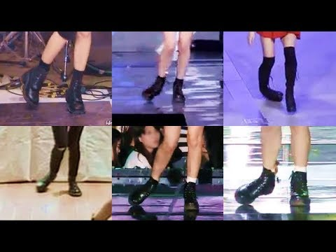 What happened with Jisoo's feet?