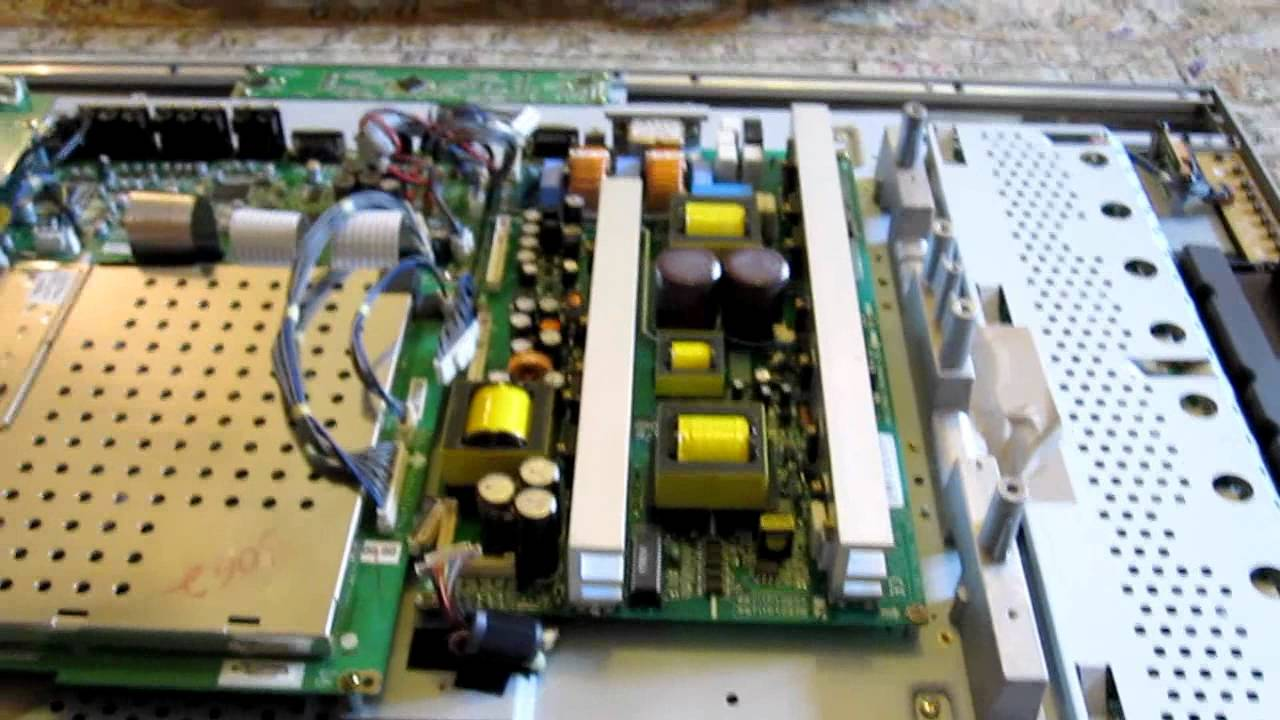 Lg Tv Repair >> DIY LG LCD Flat-panel TV repair with blown capacitor - YouTube