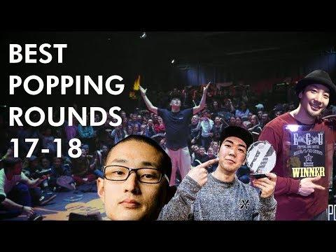 Best Popping Rounds 2018 | HOAN MT POP KITE JAYGEE SLIM BOOGIE DANDY POPPIN J