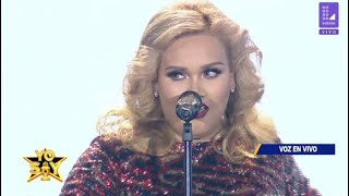 "Yo Soy Adele - ""Rolling in the deep"" GANADORA 15/12/18 GRAN FINAL"
