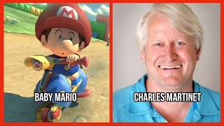 Characters and Voice Actors - Mario Kart 8 Deluxe