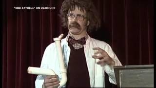 Prof. Diettrichsen über die Röhre