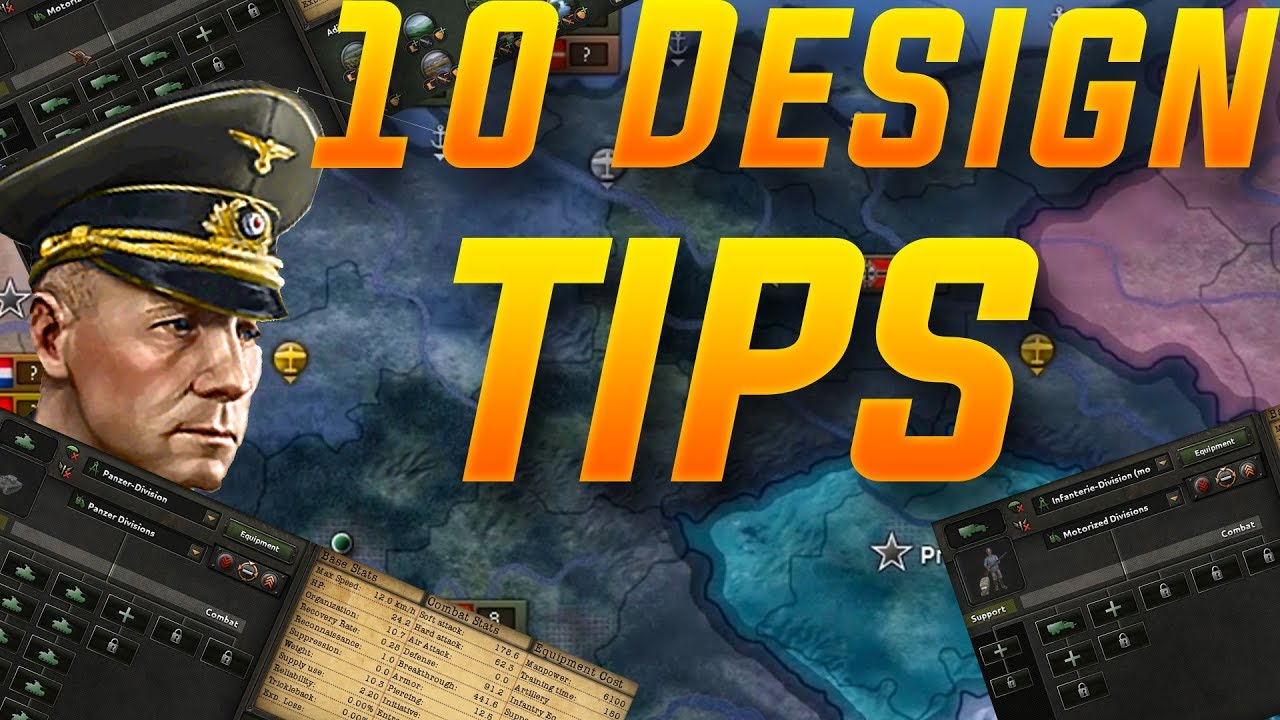 10 Tips for Designing a Division Template in Hoi4 (Hearts of Iron 4  Strategy Guide)