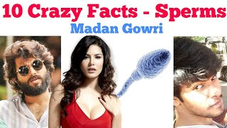 10 Crazy Facts - Sperms | Tamil | Madan Gowri | MG