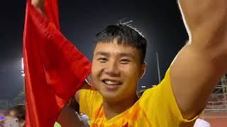 Đoàn Văn Hậu , Văn Toản , Quang Hải và dàn sao u22 Việt Nam ăn mừng chức vô địch Sea Games 30
