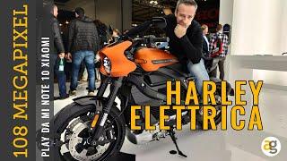 Harley ELETTRICA e le TOP novità EICMA 2019. PLAY a 108 MPX da NOTE 10 XIAOMI
