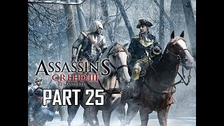 ASSASSIN'S CREED 3 REMASTERED Walkthrough Part 25 - Best Friend (AC3 100% Sync Let's Play )