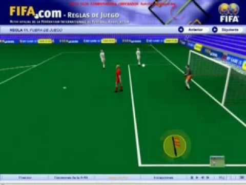 Regla 11 el fuera de juego musica movil for Offside en el futbol