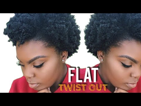 Natural Hair Flat Twist Out On Short Natural Hair Musica