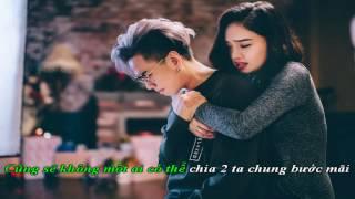 [ Karaoke HD ] Đếm Ngày Xa Em - Beat EDM (remake)