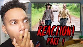 "The Walking Dead Season 8 Episode 8 ""How It's Gotta Be"" REACTION! (Part 1)"
