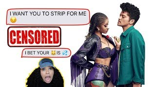 LYRIC PRANK ON A SUBSCRIBERS BOYFRIEND. GONE TERRIBLE!!!😨.. Cardi B & Bruno Mars - Please Me