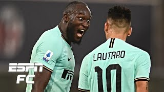 Romelu Lukaku's brace completes Inter Milan's comeback win vs. Bologna | Serie A Highlights