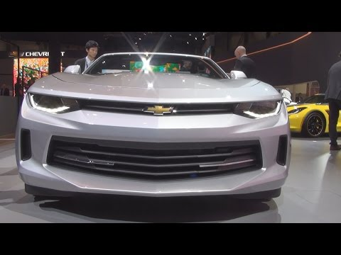 Chevrolet Camaro Convertible (2016) Exterior and Interior in 3D