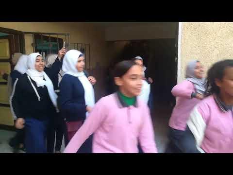 خطة اخلاء مدرسة سراى القبة الاعدادية  بنات - إدارة الزيتون التعليمية