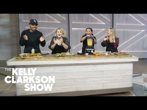Chance The Rapper, Jillian Bell, And Kelly Make Fried Chicken Sandwiches | The Kelly Clarkson Show