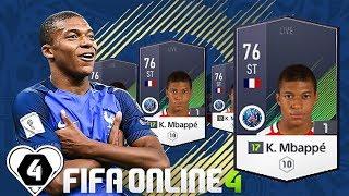 I Love FIFA | FO4 Review - Đánh Giá Kylian Mbappe Lottin SS17 ( SEASON 17 ) | FIFA ONLINE 4 ✔