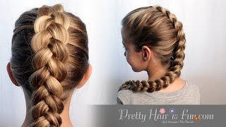How to Do a Dutch Braid Hair Tutorial| Pretty Hair is Fun