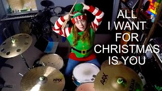 Mariah Carey - All I Want for Christmas Is You (Drum Cover)