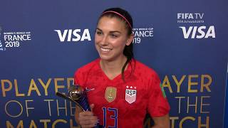 Alex Morgan – Player of the Match – USA v Thailand