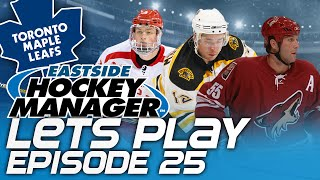 Episode 25 - HUGE SIGNINGS! | Eastside Hockey Manager:Early Access 2015 Lets Play