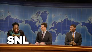 Weekend Update - Leslie Jones - Saturday Night Live