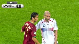 The Day Cristiano Ronaldo & Zinedine Zidane Met For The First Time