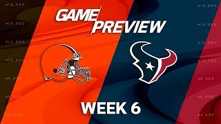 Cleveland Browns vs. Houston Texans | Week 6 Game Preview | NFL
