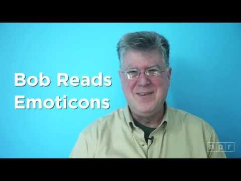 Bob Reads Emoticons