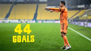Cristiano Ronaldo - All 44 Goals In 2020 With English Commentary