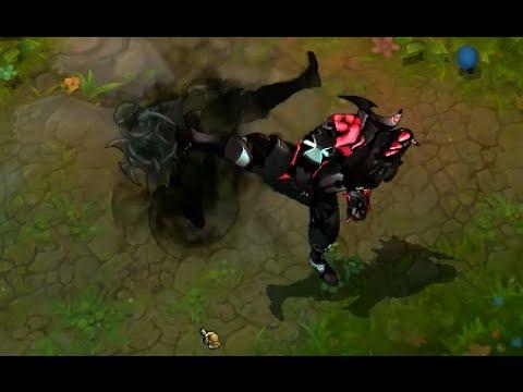 HD - League of Legends Custom Skin Preview Cyber Ninja Zed ...  HD - League of ...