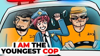 I am the Youngest Cop | Animated Story about My Super Ability