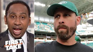 Adam Gase is a waste of time and should be fired, period! - Stephen A. | First Take