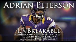 Adrian Peterson - Unbreakable