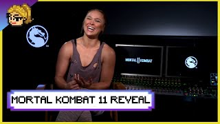 Ronda on the Road to... Mortal Kombat 11 - The Reveal