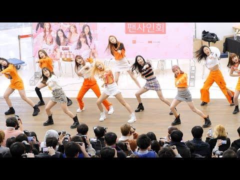 190209 체리블렛 Cherry Bullet : 다시 만난 세계 Into The New World(원곡 소녀시대 SNSD) : fansign event : 코엑스