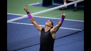 Daniil Medvedev vs Rafael Nadal   US Open 2019 Finals Highlights