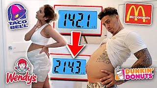 WHO CAN GAIN THE MOST WEIGHT IN 24 HOURS!!! **EATING CHALLENGE**