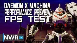 Daemon X Machina Performance Preview - Nintendo Switch