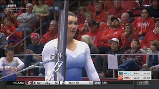 Kyla Ross - Perfect 10 on Bars at Utah