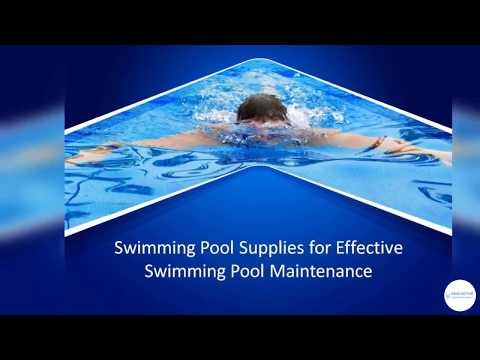 Swimming Pool Supplies for Effective Swimming Pool Maintenance