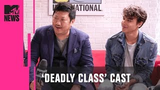 Benedict Wong & 'Deadly Class' Cast on Adapting the Graphic Novel   MTV News