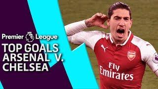 Arsenal v. Chelsea | Top Premier League Goals | NBC Sports