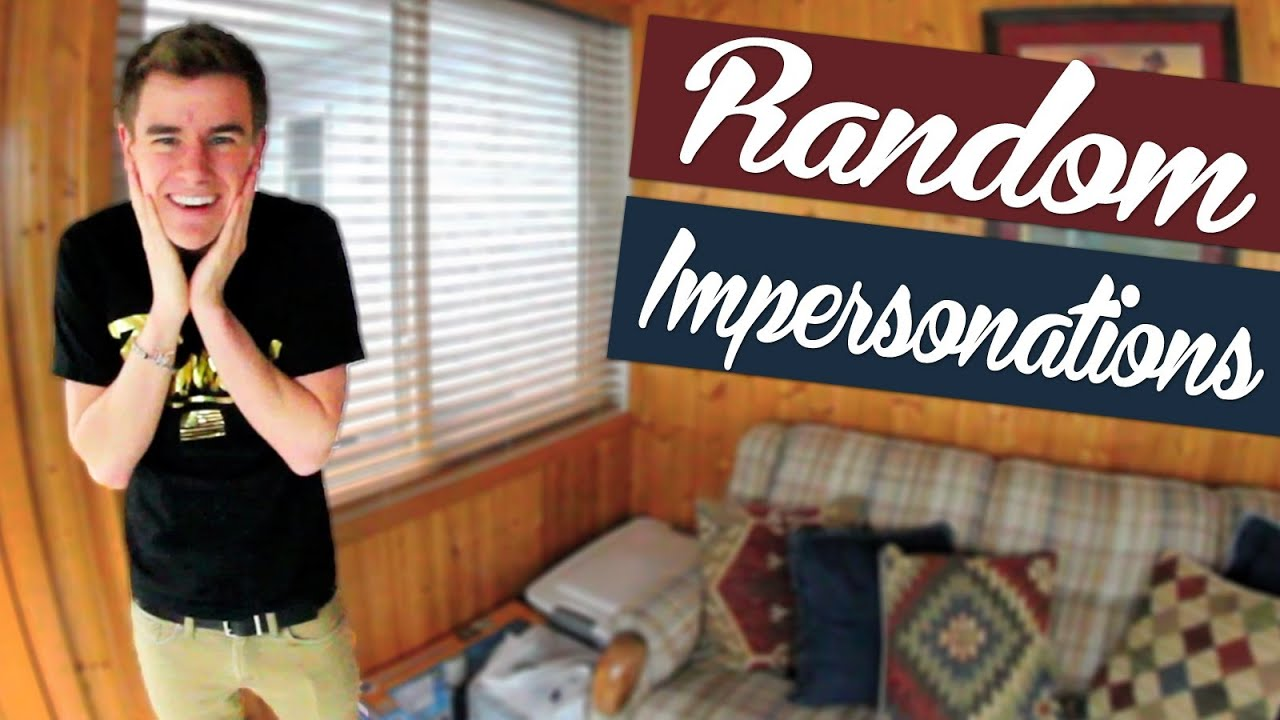 Connor Franta Does Random Impersonations - YouTubeOur2ndlife Tumblr 2013