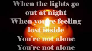 You're Not Alone -Shayne Ward with lyrics