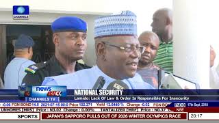 Lack Of Law & Order Responsible For Insecurity In Nigeria - Lamido