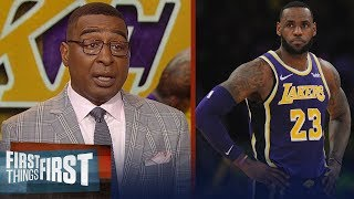 Lakers should consider trading LeBron, talks Ty Lue - Cris Carter   NBA   FIRST THINGS FIRST