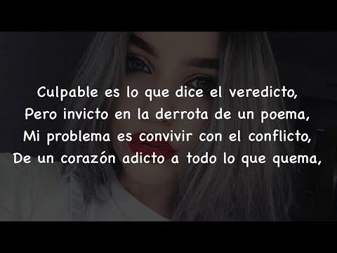 Culpable - Karen Méndez Letra (Cover Sharif y Natos)