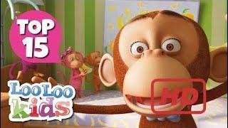 Five Little Monkeys - Top 15 Songs For Kids On Youtube  # 158